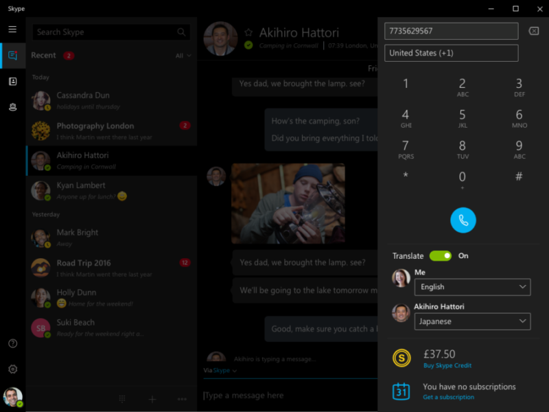 Skype Adds Japanese to Live Voice Translation Feature