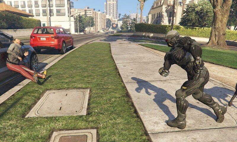 Can it Run Crysis? GTA V Mod Adds Nanosuit!