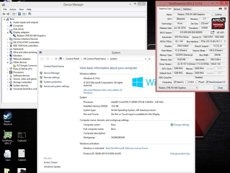 AMD Radeon RX 480 Video Card Successfully Flashed to RX 580