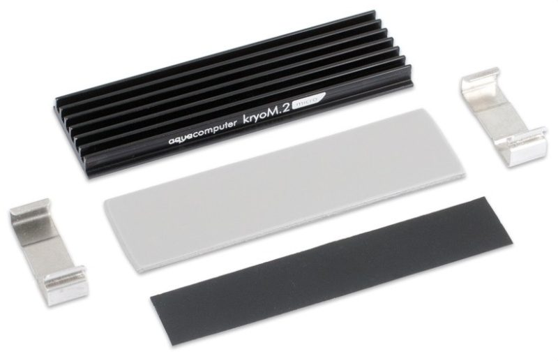 Aqua Computer Announces kryoM.2 micro and kryoM.2 evo Cooling Solutions