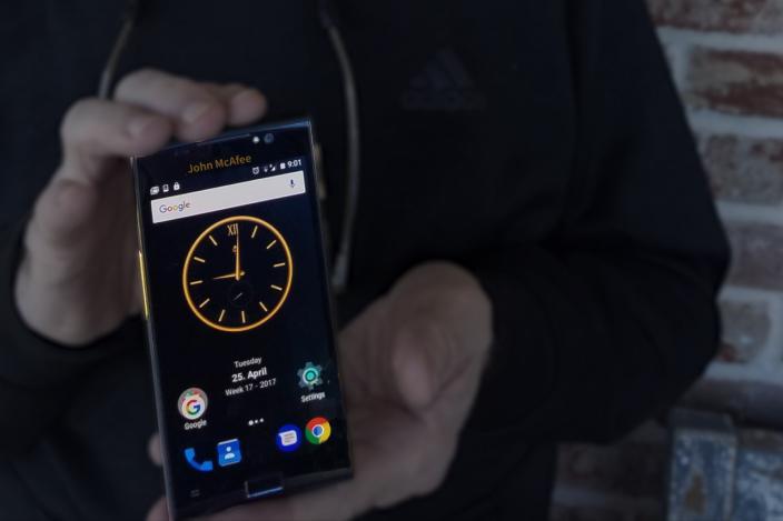 John McAfee Has Built a 'Hack-Proof' Smartphone