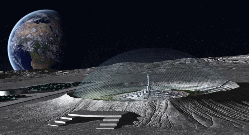 China and European Space Agencies Partnering Up to Build Moon Base