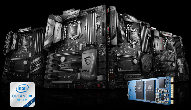 MSI Updates 200 Series Motherboard BIOS for Optane Memory Support