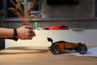 ultigesture gesture controlled smart car 2