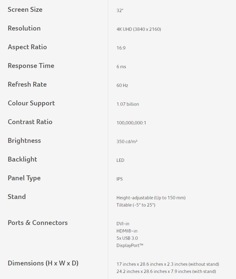 Acer ProDesigner BM320 4