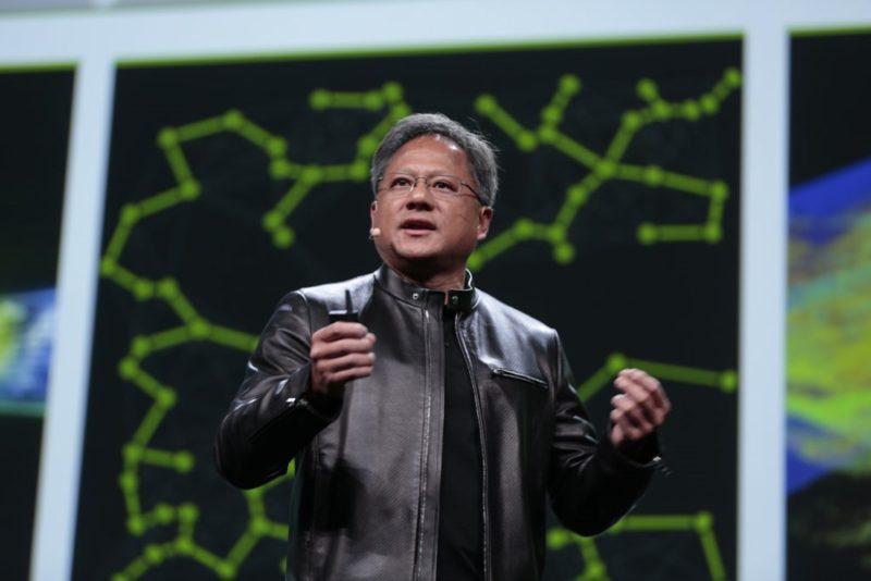 NVIDIA CEO Jensen Huang GTC 2017 Keynote