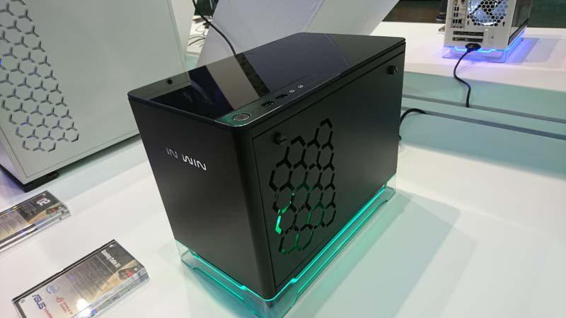 InWin Gaming Cube A1 Showcased at Computex 2017