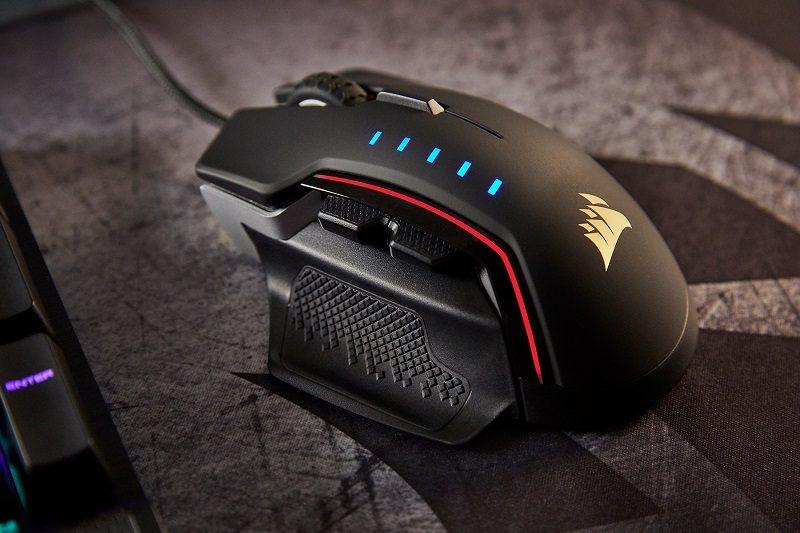 Corsair Announces GLAIVE RGB Gaming Mouse