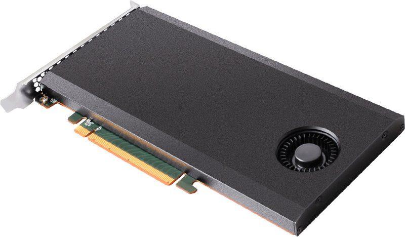 HighPoint rSSD7101 NVMe RAID SSD Angle end