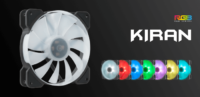 Reeven Introduces Kiran RGB LED Fan Series