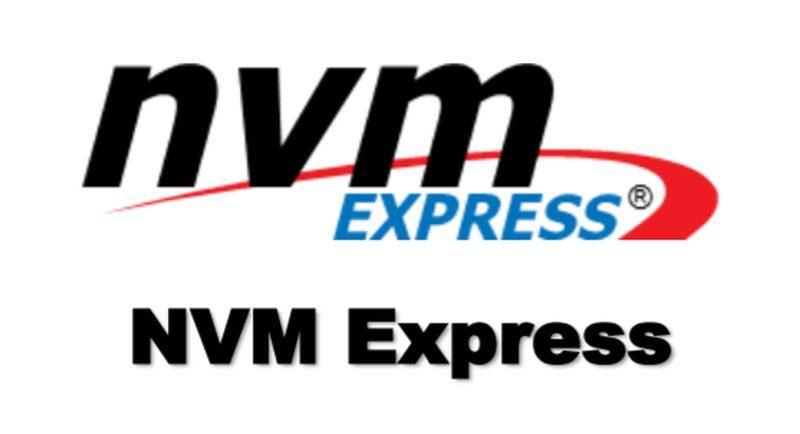 NVMe NVM Express Logo NVMe 1.3