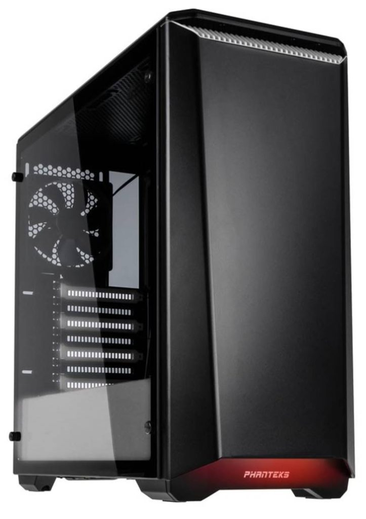 Phanteks P400 Eclipse Tempered Glass Chassis Review