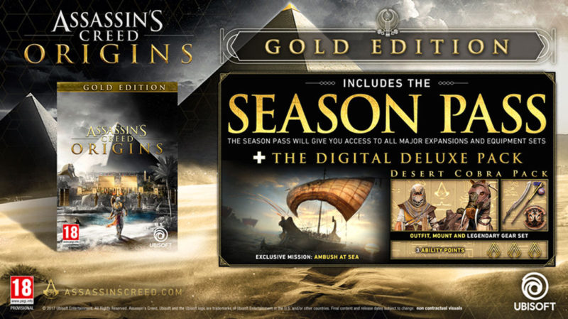 Assassin's Creed Gold Edition