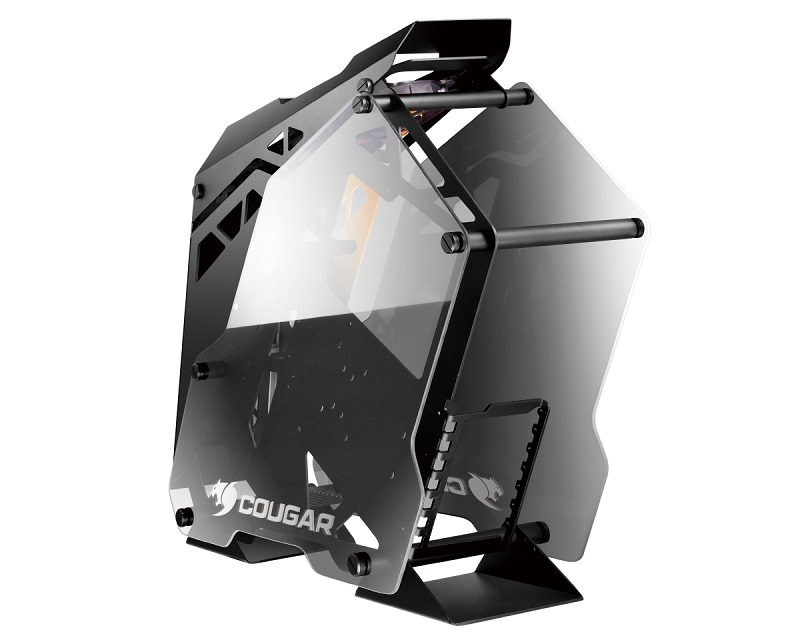 Cougar Announces Conquer Semi-Open Tempered Glass Chassis
