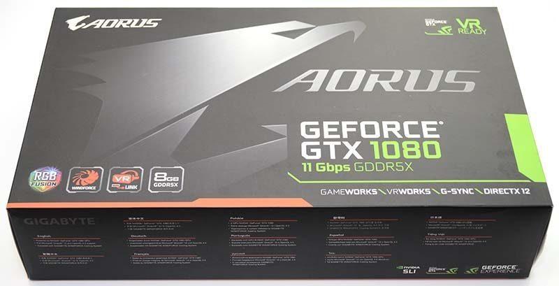 Gigabyte Aorus GTX 1080 11 Gbps Graphics Card Review