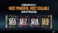 Intel X299 Kaby Lake X Skylake X HEDT 1