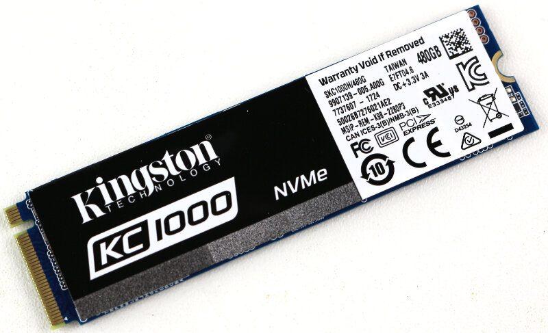 Kingston KC1000 480GB Photo view module angle 2