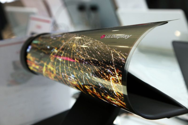 "LG Unveils Stunning 77"" 4K UHD Transparent OLED Display"