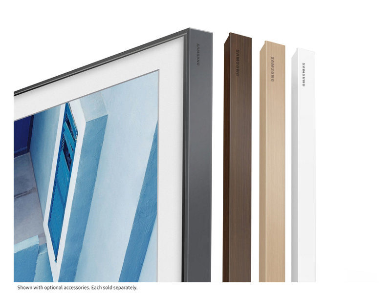 """Samsung's """"The Frame"""" Wall-mounted 4K UHD TV Now Available"""