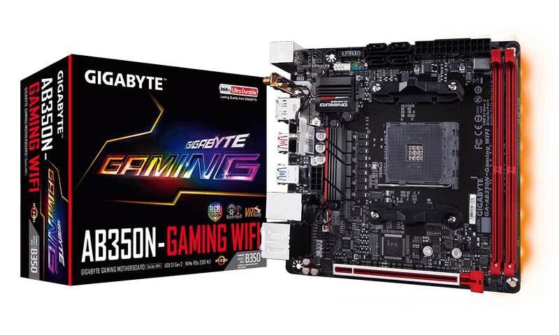 Gigabyte Introduces GA-AB350N-Gaming WIFI Mini-ITX Ryzen Motherboard