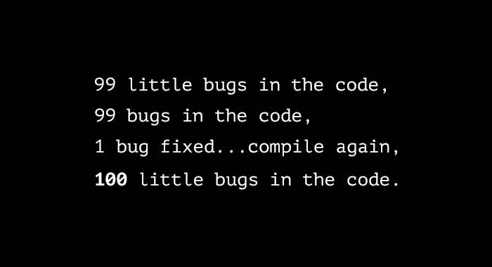 joke 99 bugs