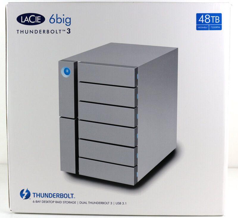 LaCie 6big 48TB Photo box front