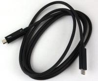 LaCie 6big 48TB Photo closeup cable thunderbolt