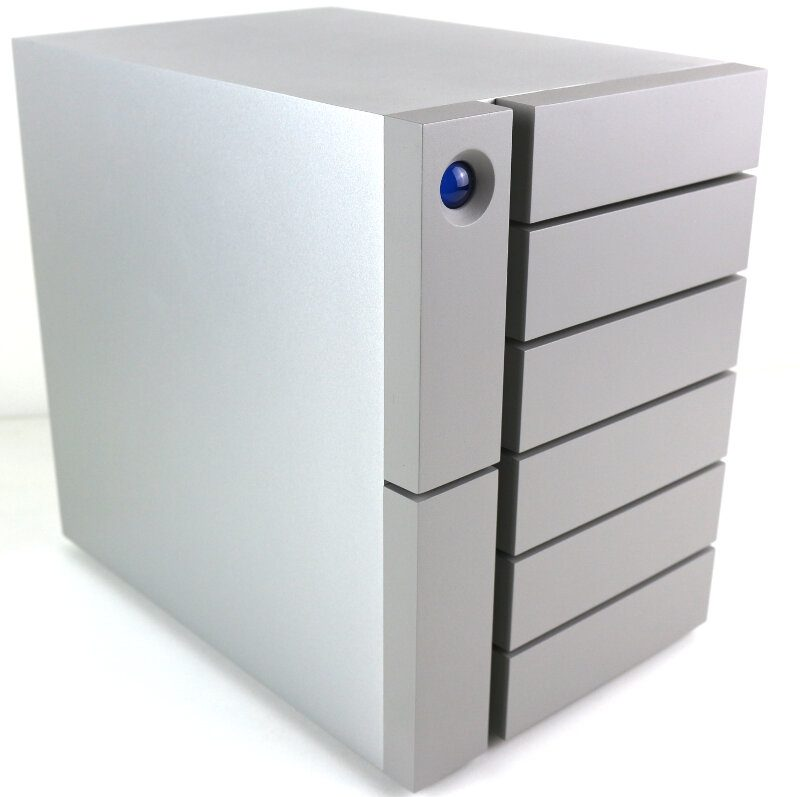 LaCie 6big 48TB Photo view front angle left