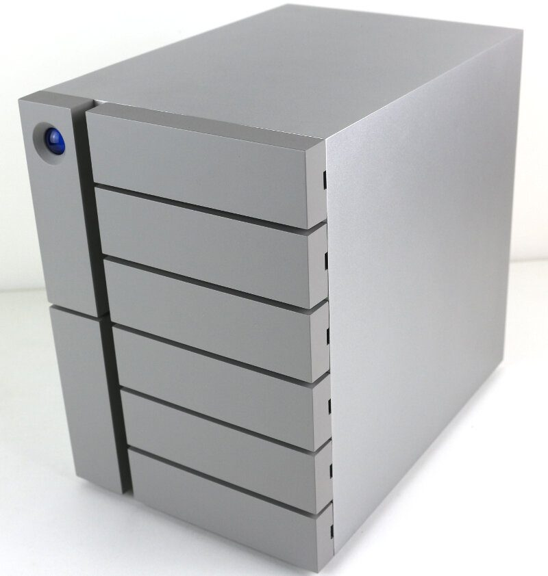 LaCie 6big 48TB Photo view front angle right