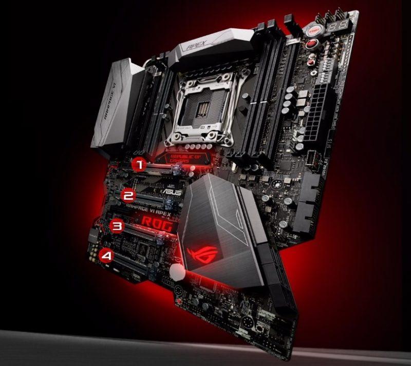 ASUS Updates X299 ROG Rampage VI Apex VRM Heatsink After Der8auer's Criticism