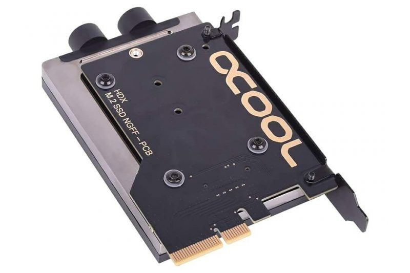 Alphacool Introduces Eisblock HDX Series M.2 SSD Coolers