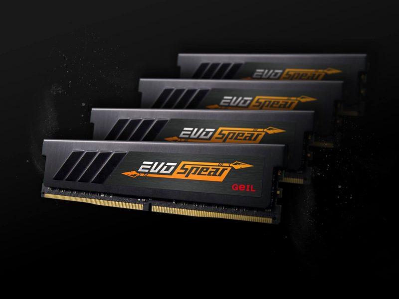 GEIL Announces EVO Spear DDR4 Memory Kits