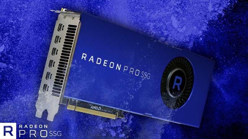 AMD Radeon Pro SSG Breaks Terabyte Memory Barrier
