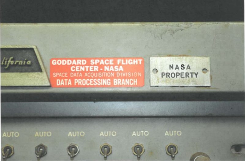 Apollo-Era NASA Computers Found in Basement