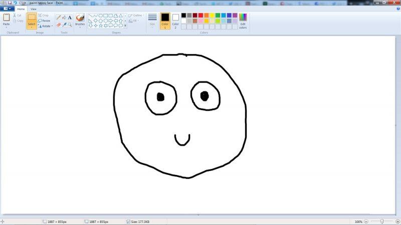 paint happy face