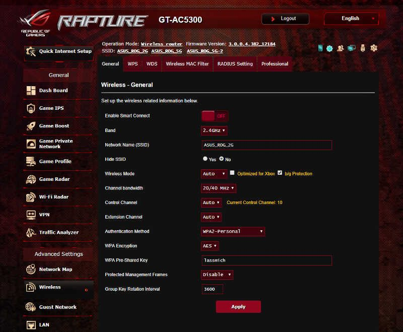 ASUS ROG Rapture SS 03 wifi 1