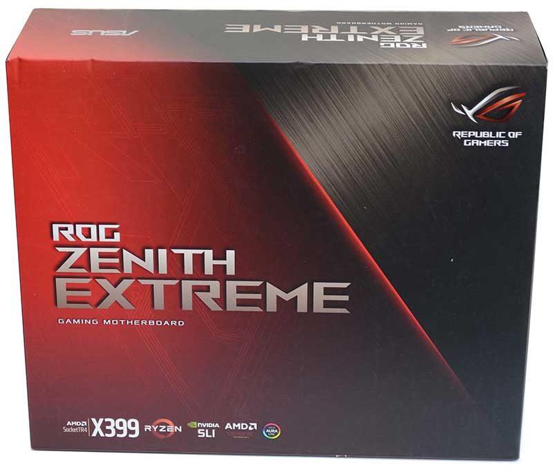 ASUS RoG Zenith Extreme X399 Threadripper Motherboard