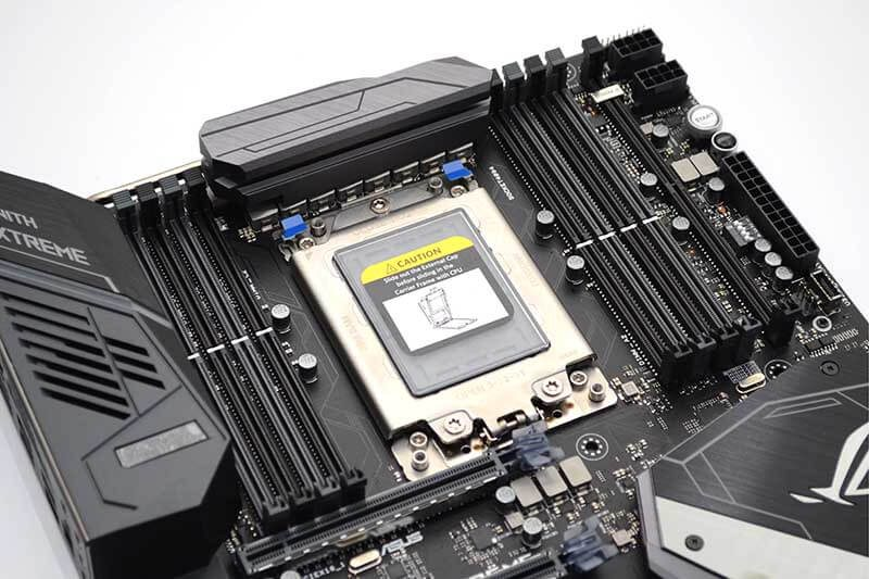 ASUS RoG Zenith Extreme X399 Motherboard Review