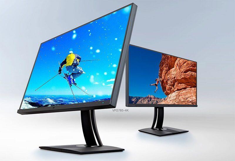 ViewSonic VP2785-4K 27-inch Ultra HD Monitor Revealed