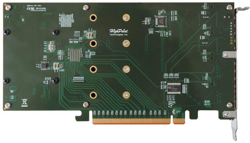 HighPoint SSD7101A-1 NVMe RAID Controller (3)