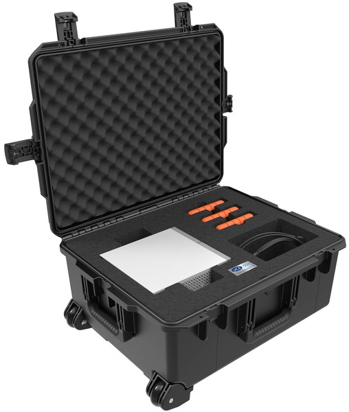 LaCie 6big 48TB Press Pelican Case open