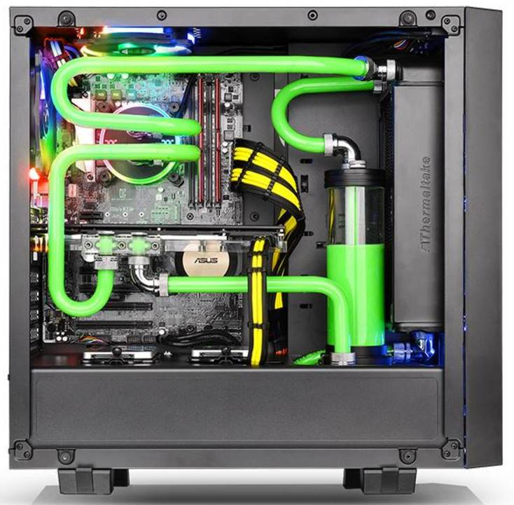 Thermaltake Core G21 Tempered Glass Edition Chassis Review
