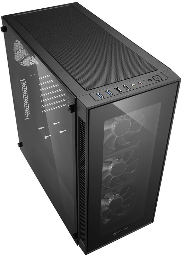 Sharkoon TG5 Chassis Embraces Tempered Glass