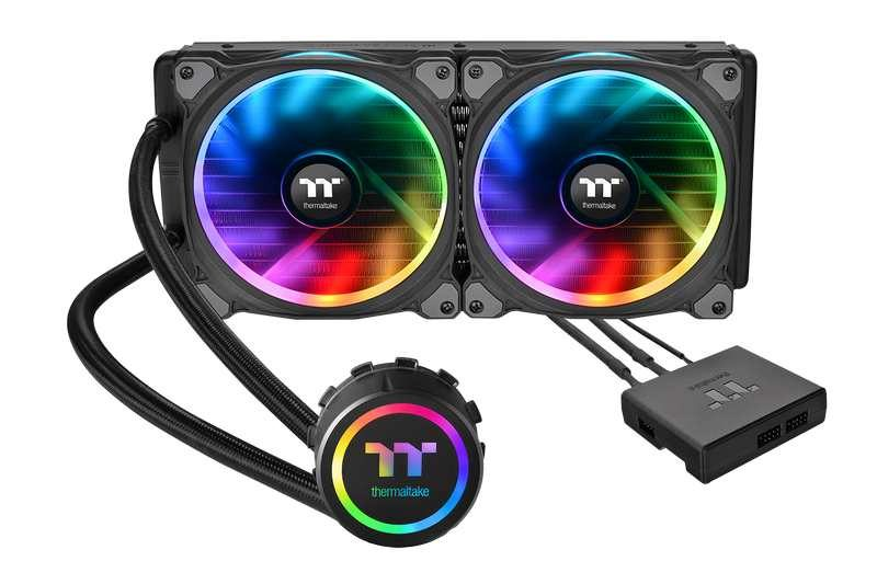 Thermaltake Introduces Floe Riing RGB AIO CPU Cooler Series