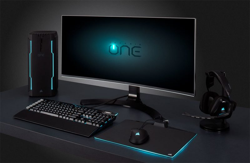 Corsair One Gets GTX 1080 Ti and NVMe SSD Upgrade