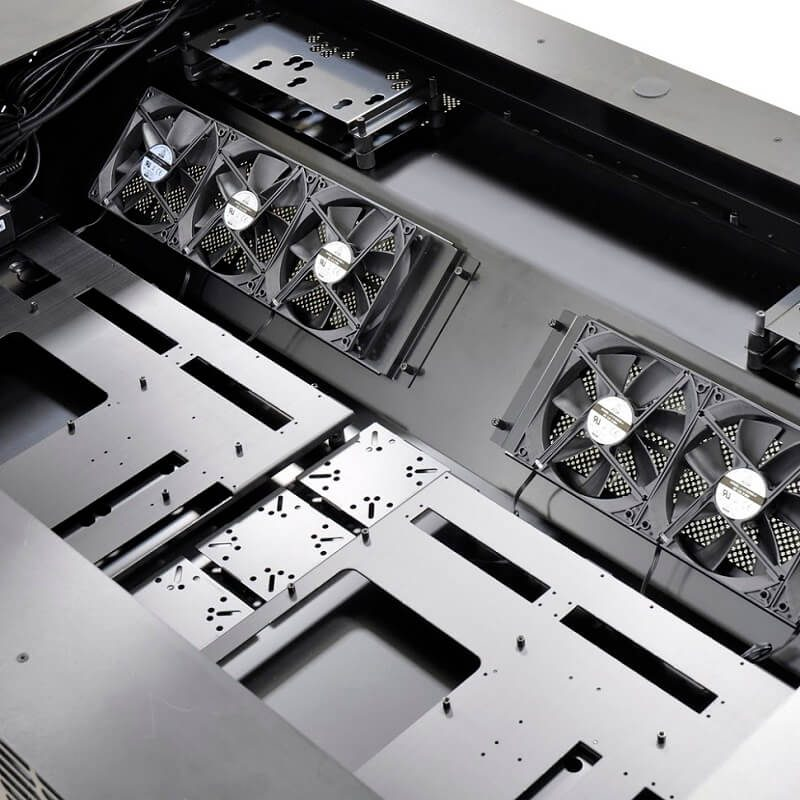 Lian Li DK-05 Motorized PC Chassis Desk Now Available