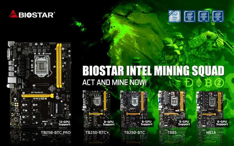 Biostar Announces Exclusive Partnership with ethOS Mining OS