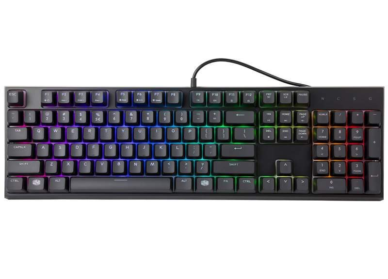 Cooler Master Introduces MasterSet MS120 Keyboard+Mouse