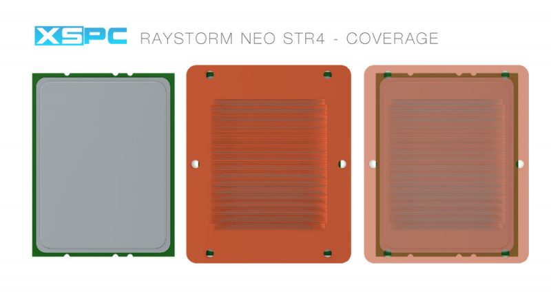 XSPC Introduces RayStorm Neo AMD sTR4 Compatible Water-block