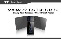Thermaltake View 71 Tempered Glass Case Introduced